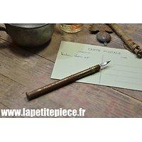 Porte plume - craie Français - idéal reconstitution WWI