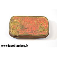 Boite FIRST AID rouge - US WW2