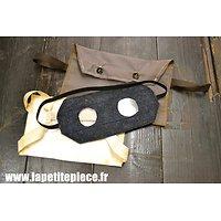 Repro Compresse C1, masque de protection et étui. France WWI