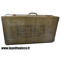 Caisse de transport SCR-625-C Signal Corps
