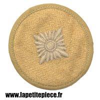 Galon de première classe / Oberschütze Allemand Deuxième Guerre Mondiale, couleur sable / hiver, Afrika Korps