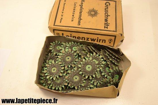 bobine de couture allemande premi re guerre mondiale ww1 gruschwitz. Black Bedroom Furniture Sets. Home Design Ideas