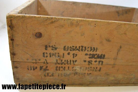 caisse de ration bois u s army field ration c. Black Bedroom Furniture Sets. Home Design Ideas