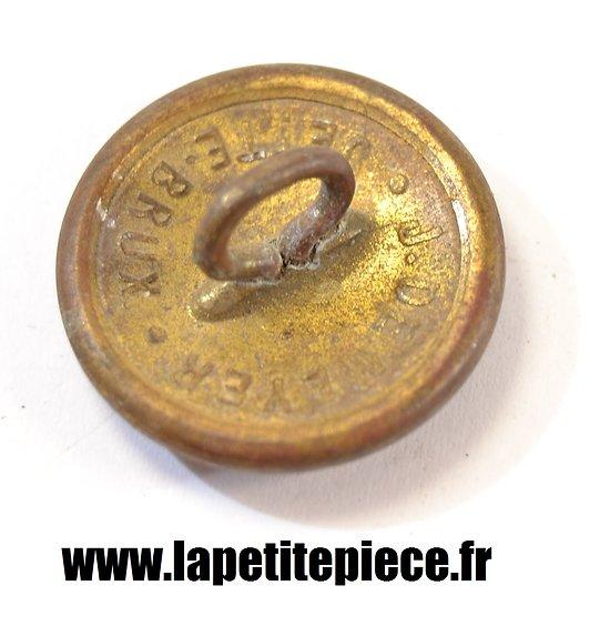 Bouton dor 25mm royaume de belgique - Bouton de liege ...