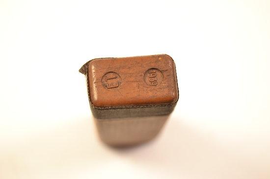 boitier de losantin pour boitier de masque gaz allemand deuxi me guerre mondiale ww2. Black Bedroom Furniture Sets. Home Design Ideas