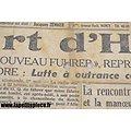 Lot journaux époque WW2 - La mort d'Hitler
