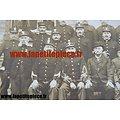 Photo de groupe Armée Belge époque Première Guerre Mondiale