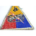 Patch US 4 Armored Division - post WW2