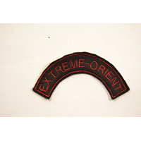 Copie patch / attribut / insigne de bras Extreme-Orient commando Indochine