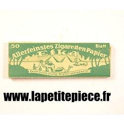 Papier à cigarettes Allemand Deuxième Guerre Mondiale. WW2 EFKA vert