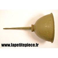 Grande burette à huile Armée Française, GMC / DODGE  JEEP, reconstitution WW2 véhicule