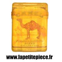 Boite / étui pour paquet de cigarettes avec paquet CAMEL Américain Deuxième Guerre Mondiale. US WW2