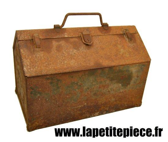 Grande caisse outils am ricaine deuxi me guerre mondiale gmc jeep tools box us ww2 - Petite caisse a outil ...