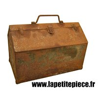 Grande caisse à outils Américaine Deuxième Guerre Mondiale. GMC JEEP, TOOLS BOX. US WW2