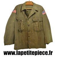 Veste JACKET Herringbone Twill Spécial, HBT. Taille 38R avec sifflet police 1943. US WW2 ?