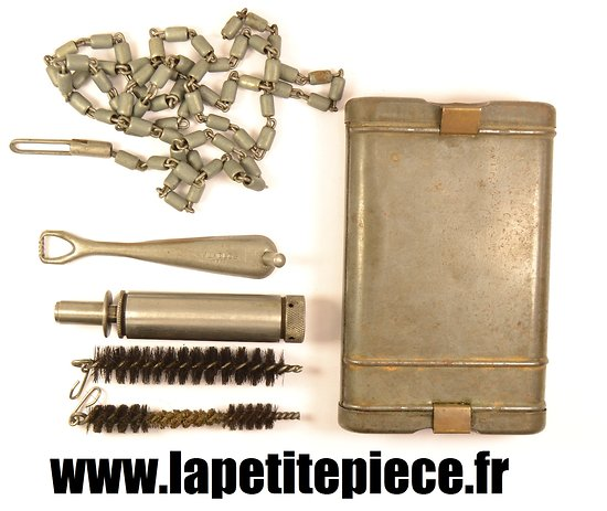 boitier kit de nettoyage pour mauser 98k mundlos 1939 complet avec cuilli re d 39 origine. Black Bedroom Furniture Sets. Home Design Ideas