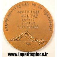 Médaille du XXXVeme anniversaire de la liberation du camp de Natzwiller Struthof
