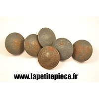 Bouton 23mm Infirmiers Militaires. France WW1