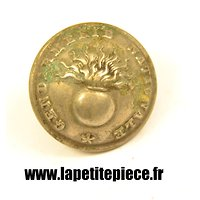 Bouton 23mm Gendarmerie, France WW1