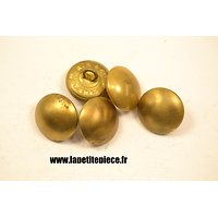 Bouton 20mm lisse laiton France