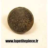Bouton 20mm lisse noir France WW1