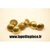 Bouton 15mm lisse laiton France