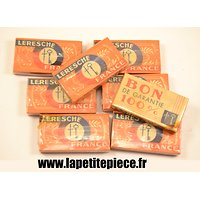 Boite de 5 lames de rasoir Leresche, France WW2