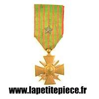 Croix du combattant 1914 - 1918 avec citation (France WW1)