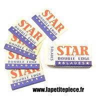 boite de 5 lames de rasoir STAR US WW2