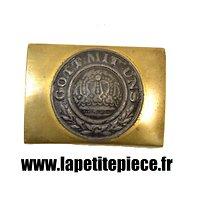 Ancienne reproduction artisanale de boucle de ceinturon Allemande