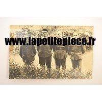 Carte photo prisonniers de Guerre Stalag IIC IV/166, soldats Belges