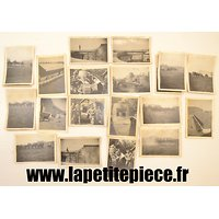 Lot de photos Armée Belge FT18 Tournai 1920