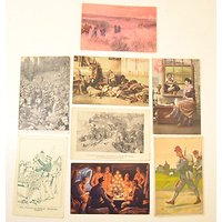 Lot cartes postales patriotiques Autrichiennes Première Guerre Mondiale