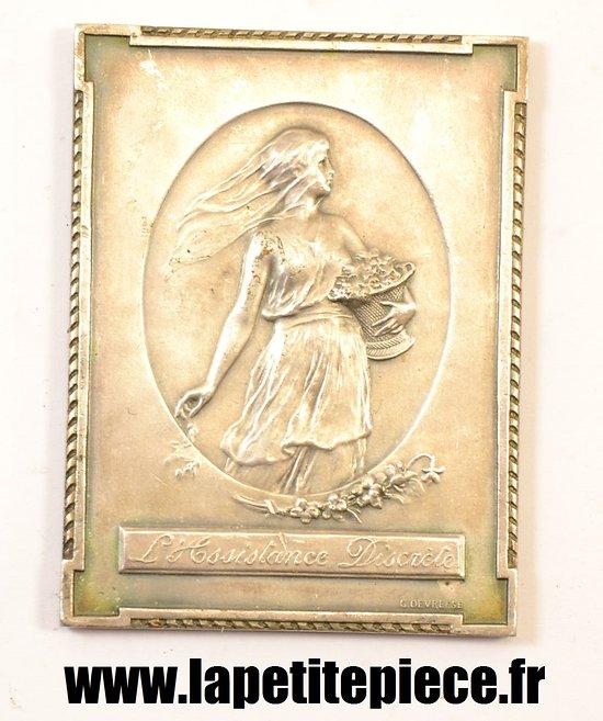 Médaille Belge souvenir de nos années terribles 1914 - 1915 C. DEVREESE