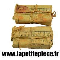 Deux paquets vides 8 cartouches modèle 1932 N. France WW2