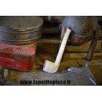 Petite pipe en terre, idéal déco Première Guerre Mondiale