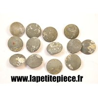 Lot boutons Allemands Deuxième Guerre Mondiale.