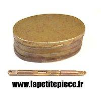Kit de nettoyage et entretien Lebel / Berthier, lavoir à ficelle + boite à graisse