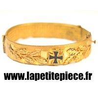 Bracelet Allemand Artisanat de tranchée / travail d'orfèvre