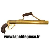 Pistolet lance amarre Anglais Première Guerre Mondiale.