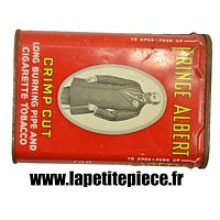 Boite de tabac américaine Prince Albert Crimp Cut pipe and cigarette tobacco