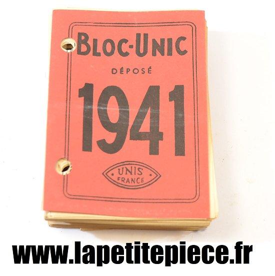 calendrier de bureau 1941 ardennes bloc unic unis france. Black Bedroom Furniture Sets. Home Design Ideas