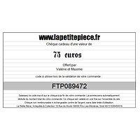 Chèque cadeau de 75 euros