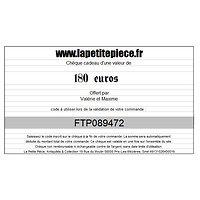 Chèque cadeau de 180 euros