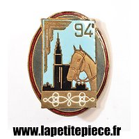 Insigne 94 GRDI (94eme Groupe de reconnaissance Division d´Infanterie) France Mai - Juin 1940. WW2