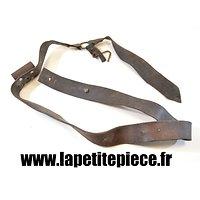 Brelage porte tambour Français Première Guerre Mondiale