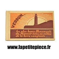 Carnet de cartes postales souvenir de Verdun, les monuments.