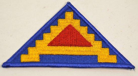 Patch de bras 7th Army, Débarquement de Provence, Sicile, Vosges, Alsace, Sarre