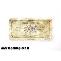 Billet de 1 franc Armée Belge de 1946