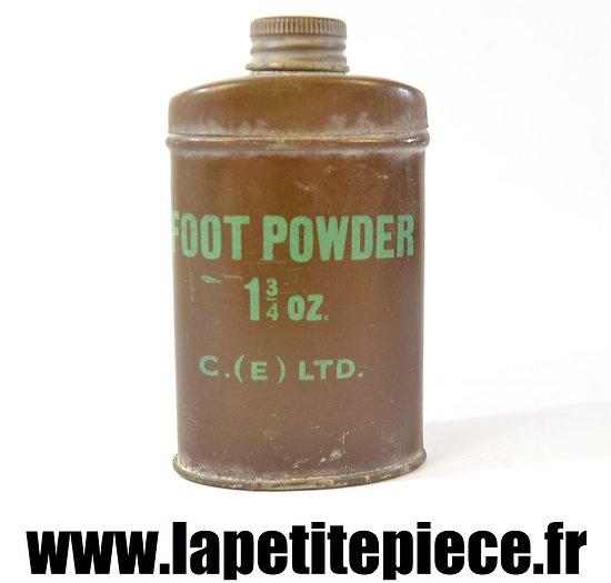Boite de poudre pour les pieds - FOOT POWDER 1 3/4 oz C. (E) LTD.